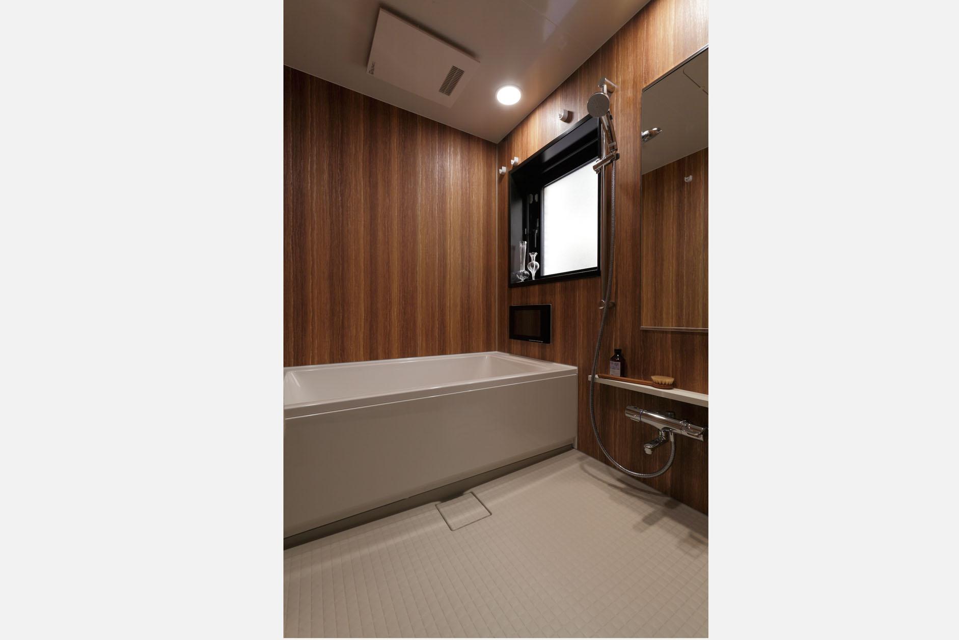 浴室/窓付きで明るく、高級感のある仕様。 イメージ