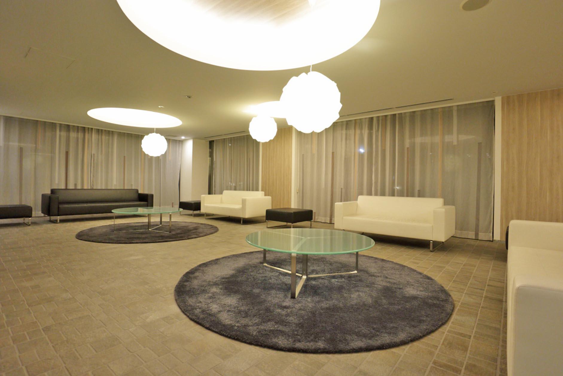 照明・家具にも拘ったホテルライクなラウンジ イメージ