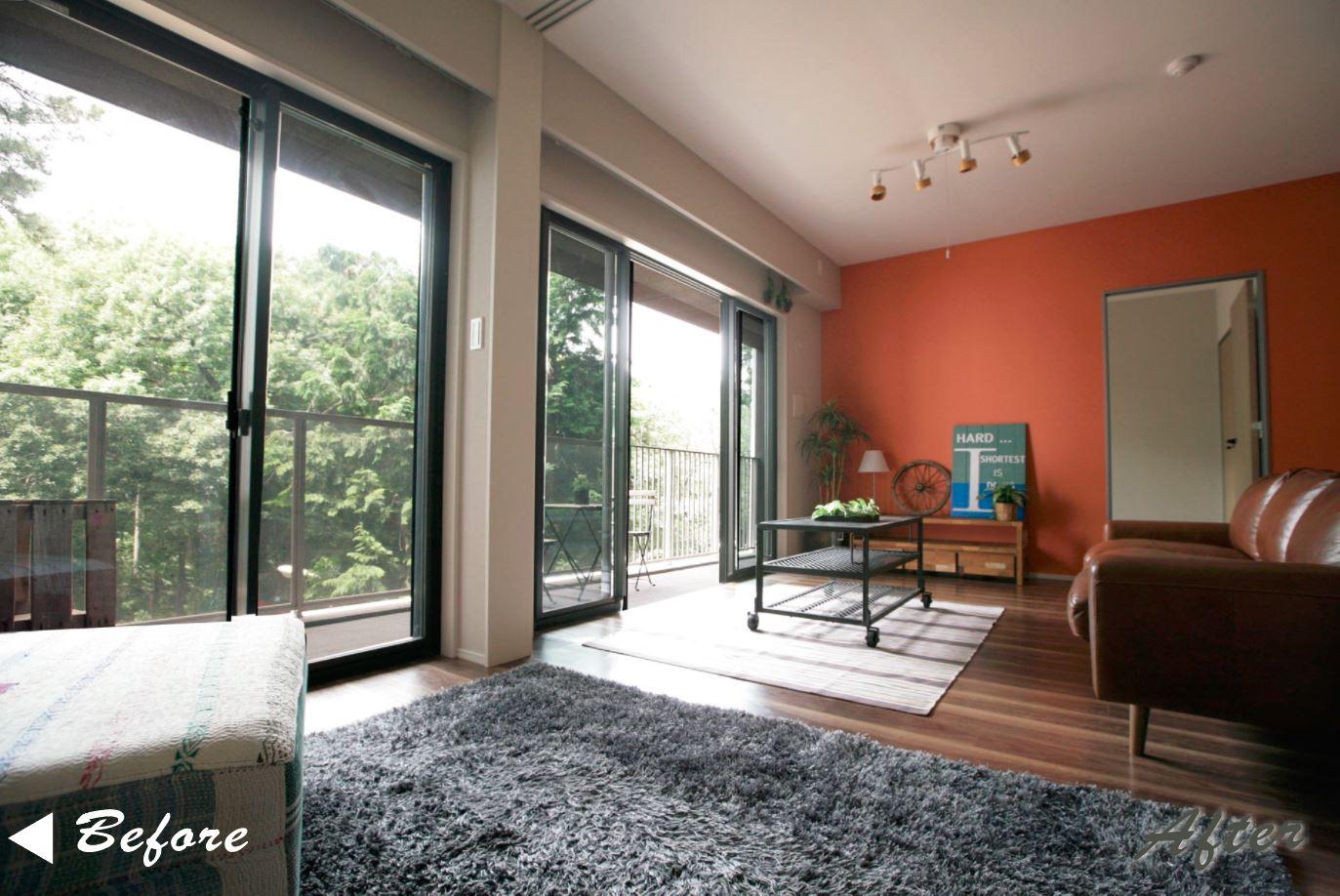 パークビューならではの心地よい緑景と通風が確保された室内 イメージ