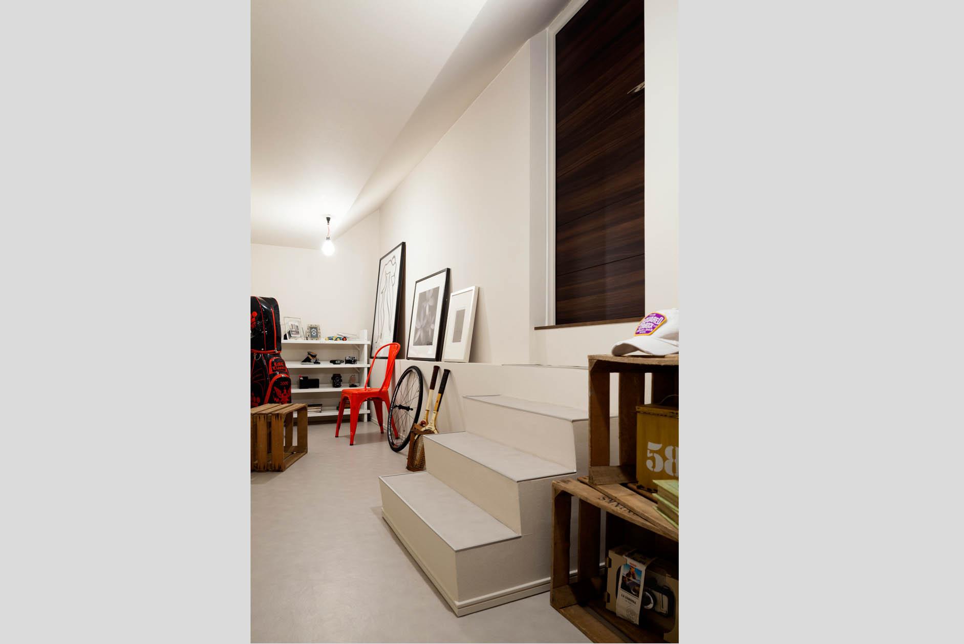 約5.7帖のストレージルームは収納としても趣味の部屋としても使えます。 イメージ