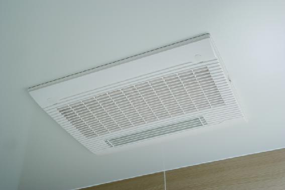 浴室換気乾燥機・夜間や雨天の洗濯物の乾燥に重宝します。 イメージ