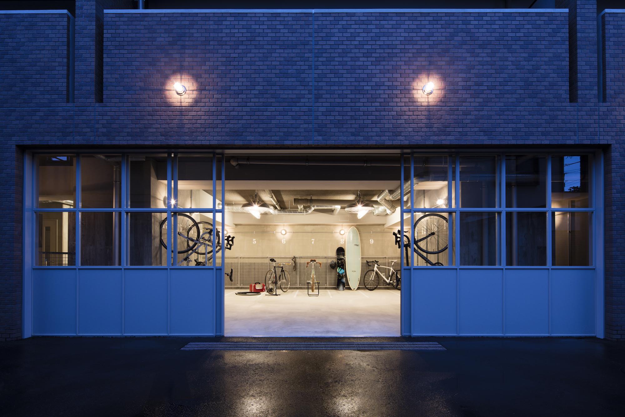 メンテナンススペースも設けてありますので、大切な自転車のお手入れも気軽にできます。 イメージ