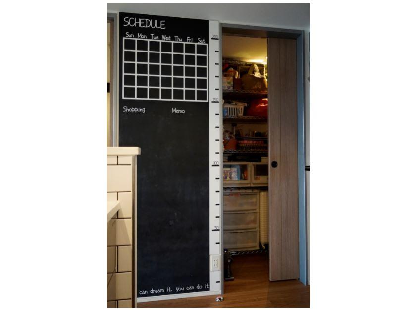 キッチン横のパントリー大型収納としても使い勝手充分。 イメージ