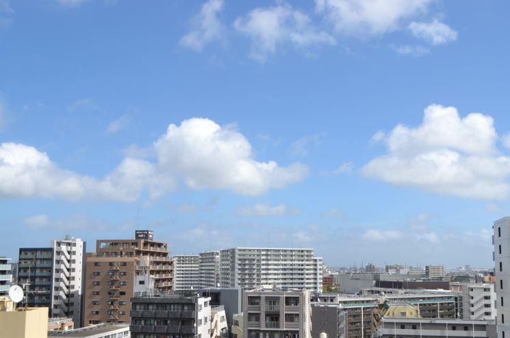 現地からの眺望(2019年9月)撮影、日当たり・眺望・風通し良好 イメージ