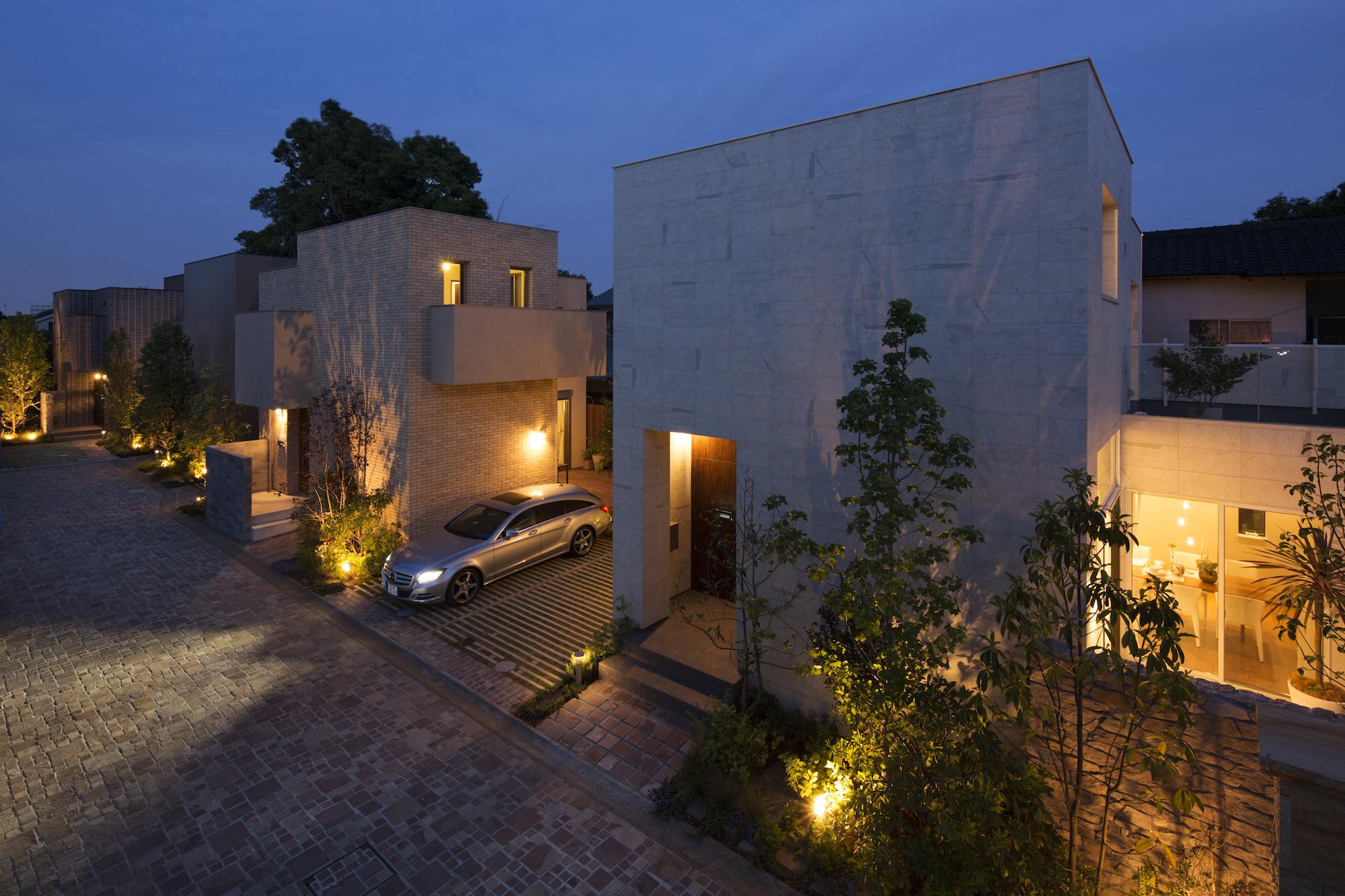 デザイナーがこだわった街区全体の照明計画 イメージ