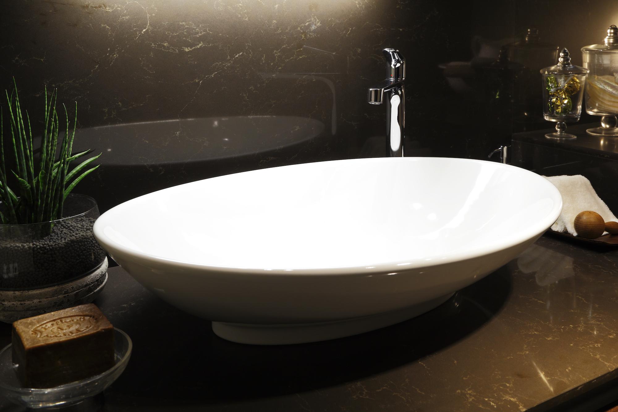 セレブ御用達のSCARABEOの洗面ボール イメージ
