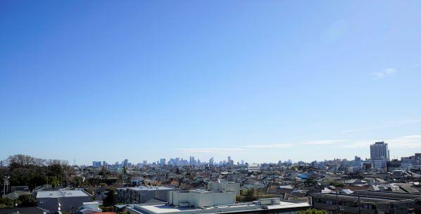 新宿の高層ビル群を望む眺望 イメージ