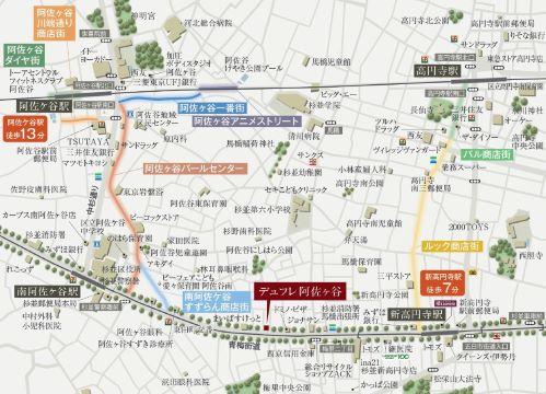 現地地図 イメージ