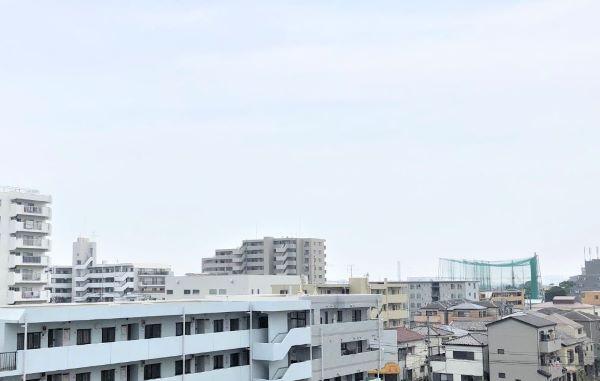 バルコニーからの眺望・(2020年8月)撮影 イメージ