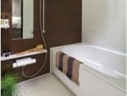浴室乾燥機もあるユニットバス。 イメージ
