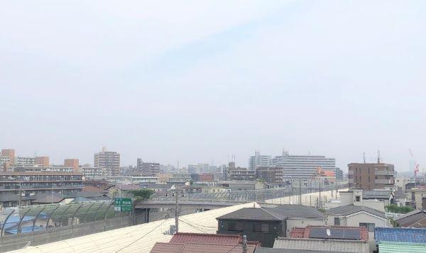 洋室からの眺望・(2020年8月)撮影 イメージ