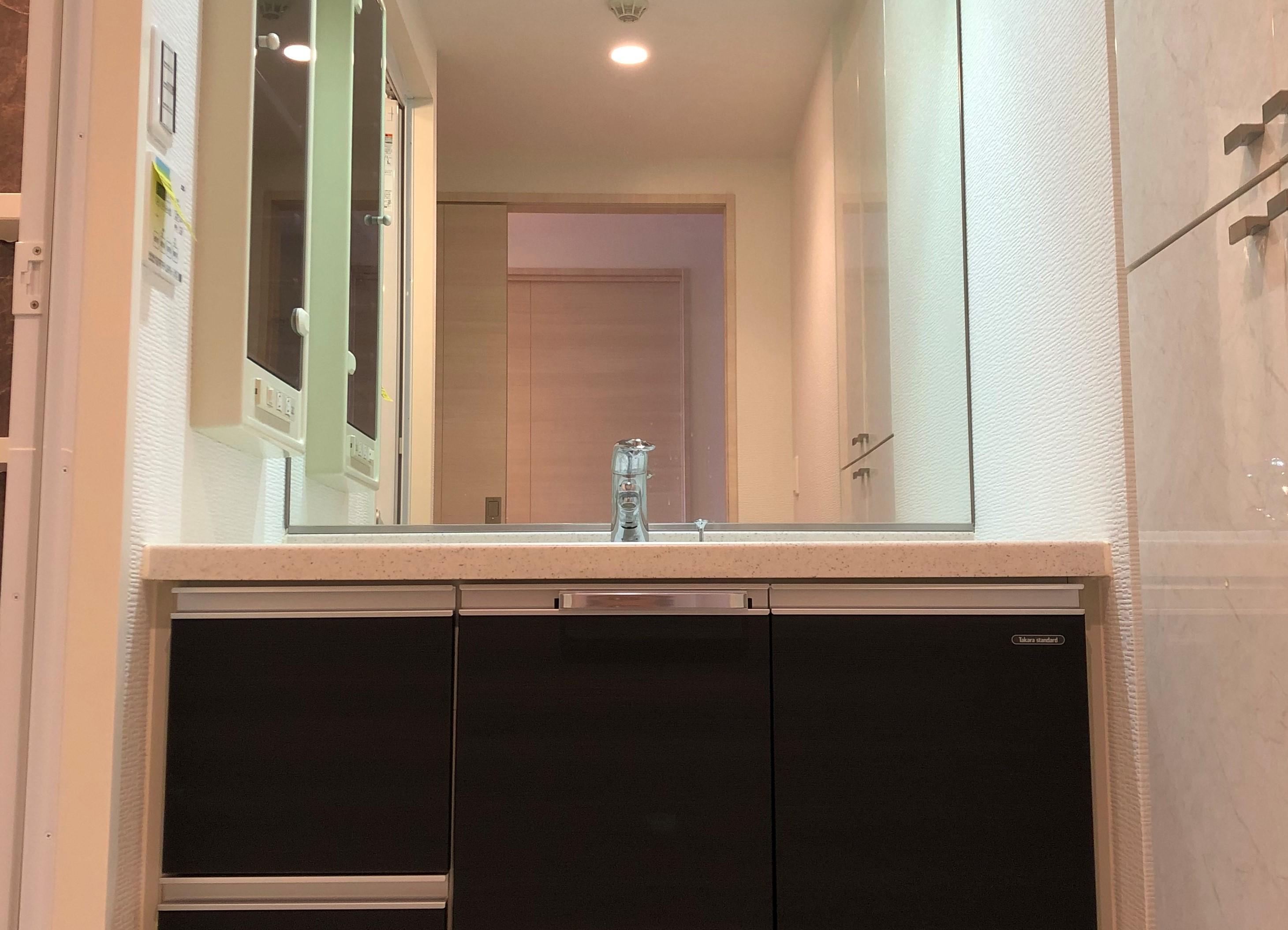 清潔感のある洗面所 イメージ
