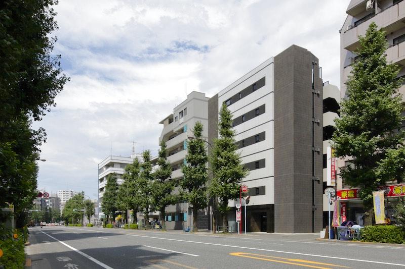 銀杏並木の沿道と阿佐ヶ谷・高円寺のミッドポジションの好立地。 イメージ