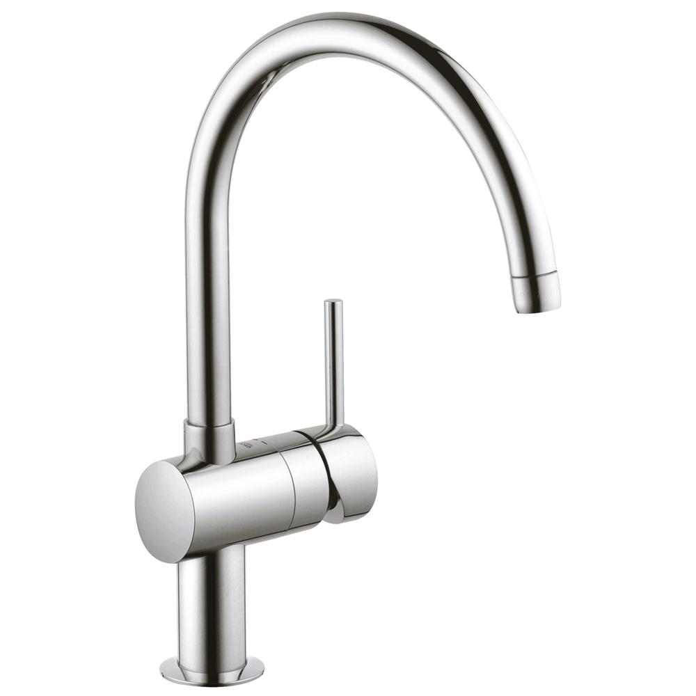 ホースが引き出し可能なので、シンクのお手入れやポットへ浄水を注ぐのも簡単便利。浄水器一体型なので身体に優しいおいしい水がいつで… イメージ